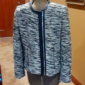 Calvin Klein Sz L Blazer Jacket